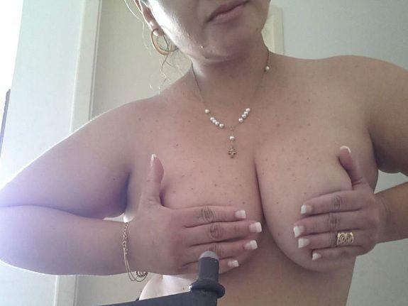 Fotos da namorada peituda pelada