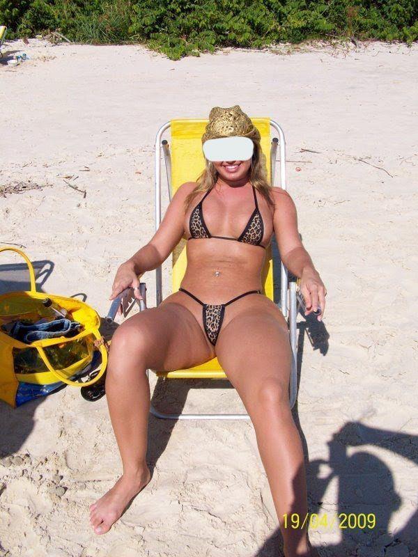Topless bikini thread