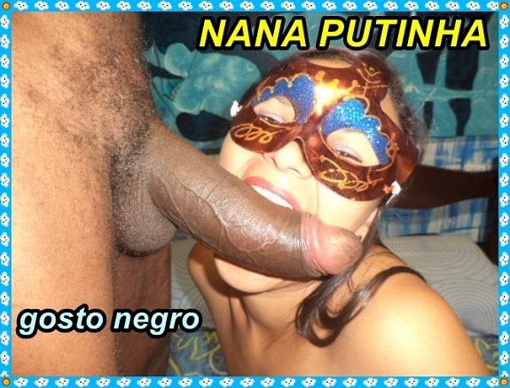 Nana a Putinha em fotos amadoras de sexo porno