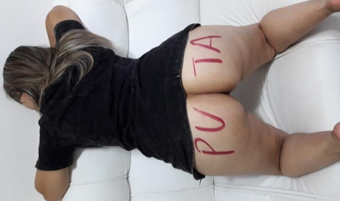 Minha esposa loira quer ser puta