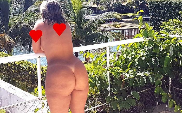 Esposa bunduda exibicionista mega gostosa