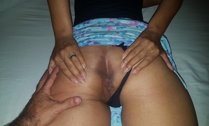 Esposa gostosa e sua bunda grande