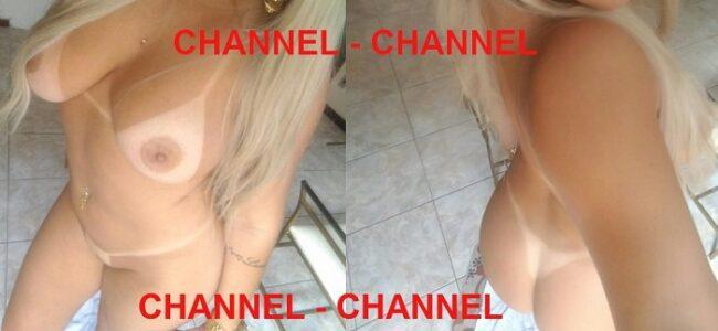 Casal Channel e sua loira gostosa